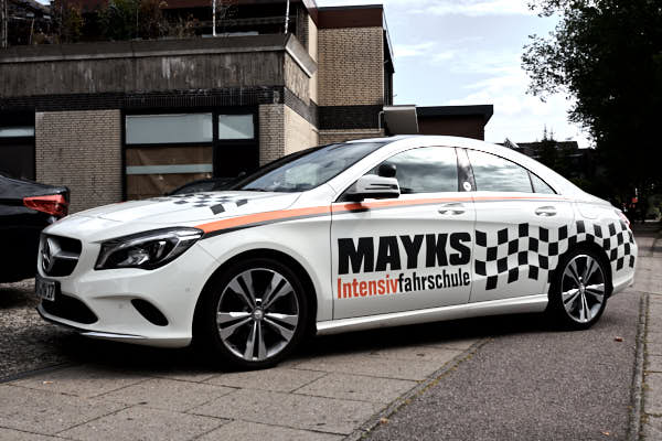 Mayks Intensivfahrschule in Harburg Mercedes CLA