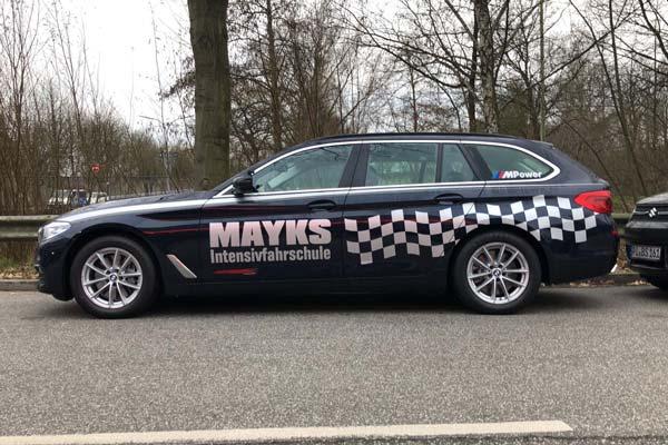 Makys Intensivfahrschule BMW 5er