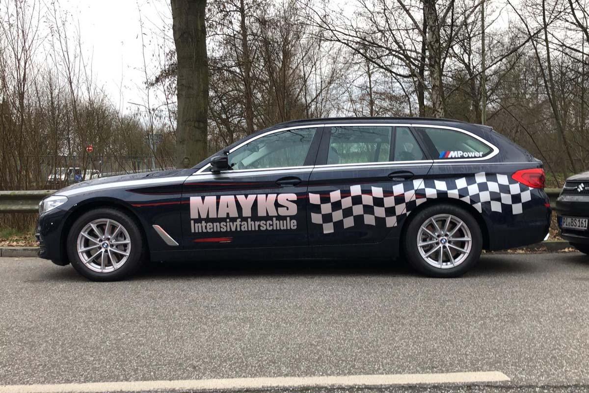 BMW-5er Führerschein Mayks Fahrschule