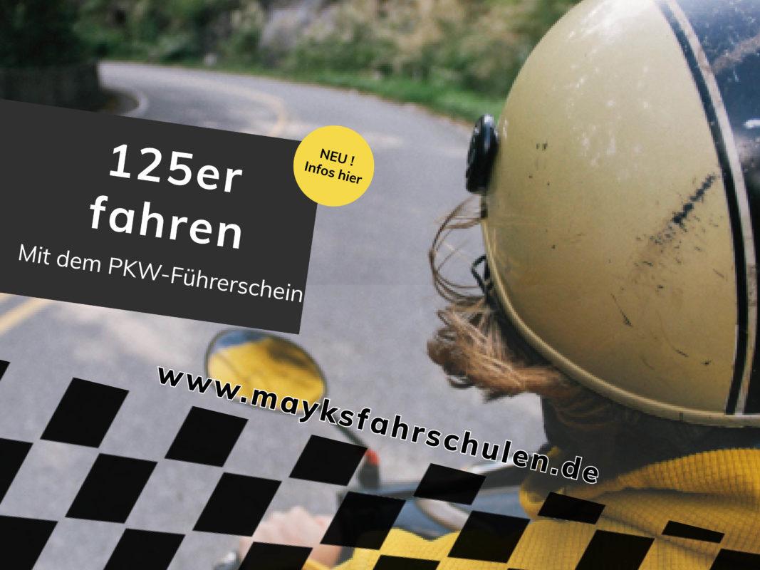 Mayksfahrschulen Führerschein 125ccm B196